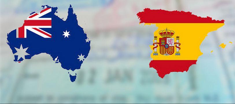 Acuerdos de trabajo entre Australia y España